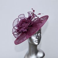 Statement Mother of the Bride Hatinator in Grape 15776A/SD218/303